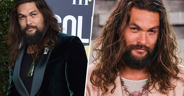 Jason Momoa Wore A Tank Top To The Golden Globes