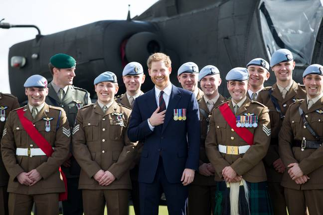 Prince Harry forced to give up military appointments