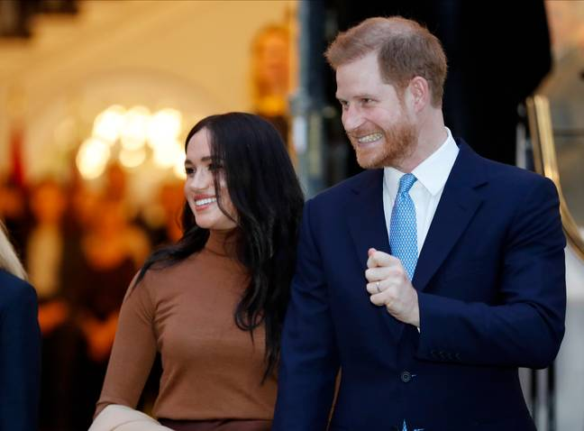 Prince Harry and Meghan Markle (PA Images)