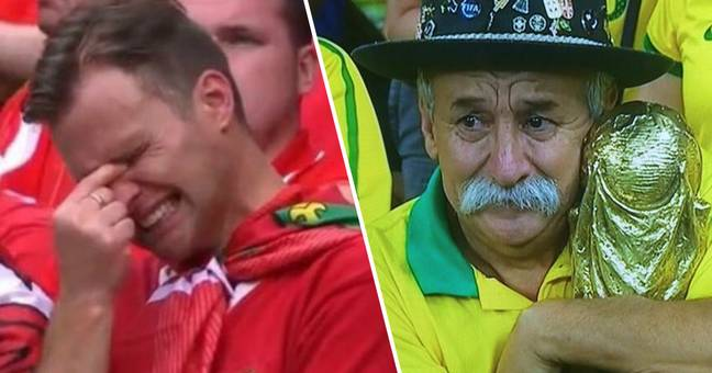 Stressed Football Fans