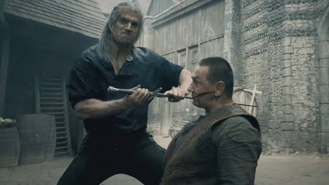 The Witcher Fight Scene