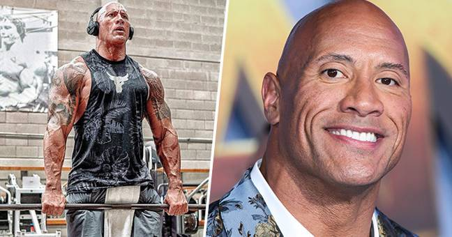 The Rock Has Officially Started Training For His Superhero Movie
