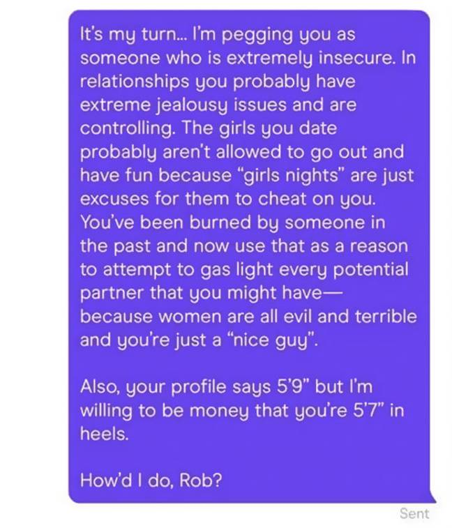 Man Accused Of 'Negging' Woman On Hinge Sees Gross Tactic Immediately Backfire