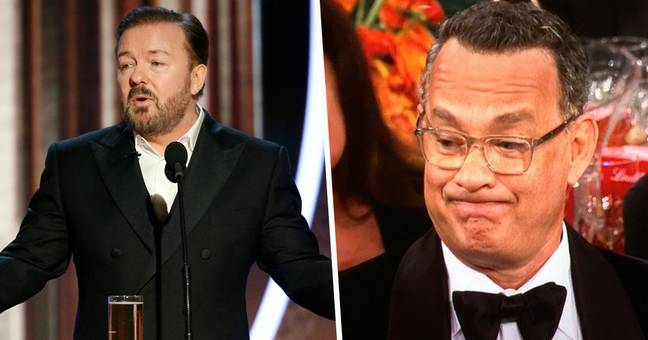 Ricky Gervais' Microphone Had To Be Cut Twice During Golden Globes Jokes