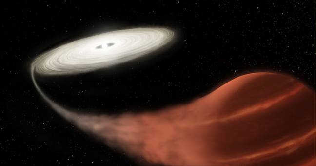 Vampire Star Discovered 'Devouring Energy' From Other Star