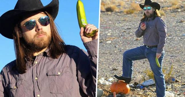 Vegan Shares Brilliant Video Of Himself 'Hunting' To Encourage Plant-Based Diet