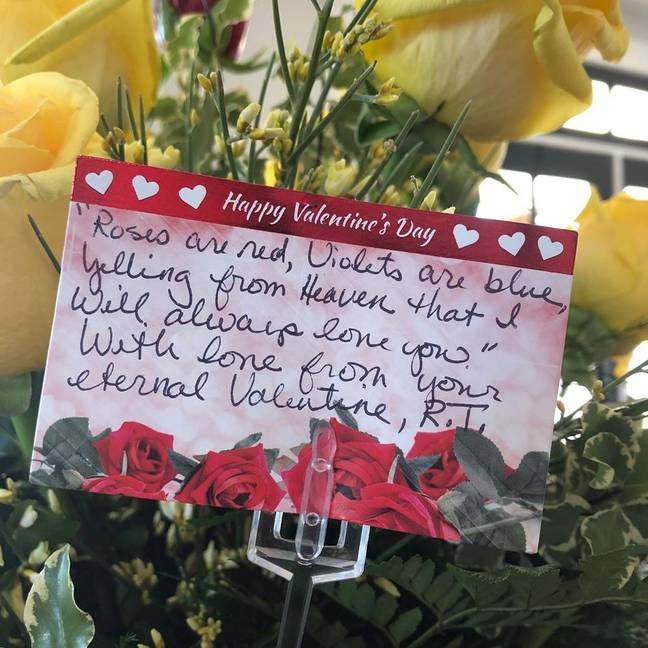 Woman's Husband Who Lost Battle With Cancer Made Sure She Had One Final Valentine's Gift