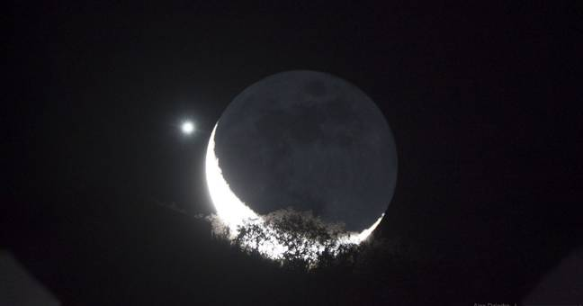 Venus And The Moon Will 'Kiss' In Rare Celestial Show This Week