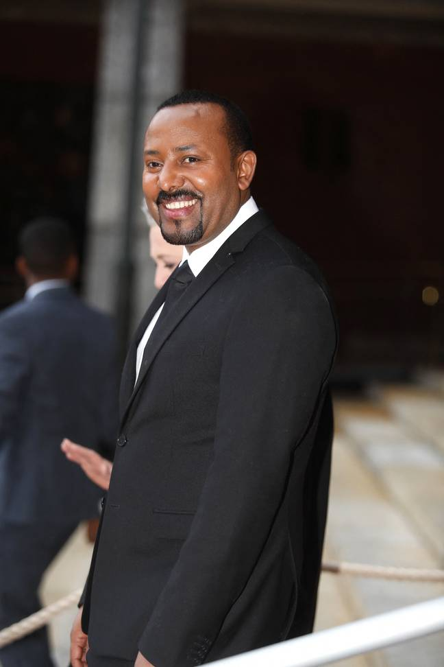 Ethiopia's Prime Minister Abiy Ahmed