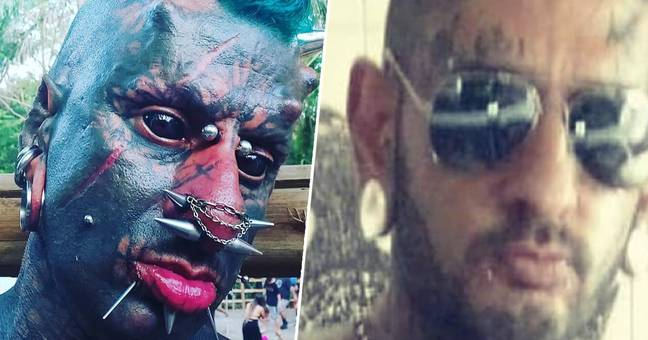 Guy Dubbed 'Human Satan' Transforms Himself With Canine Teeth After Body Mods