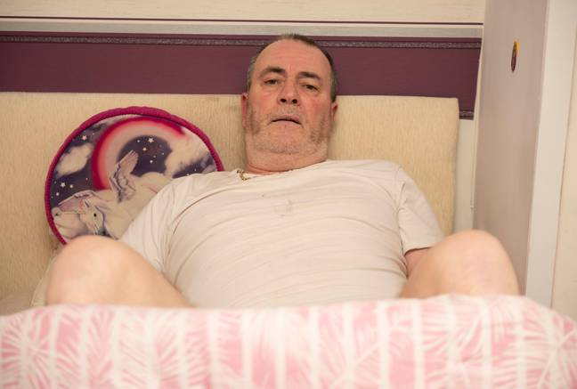 man left with permanent erection