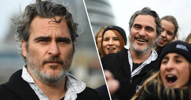 Joaquin Phoenix Urges Brits To Go Vegan In Protest Hours Before BAFTAs Win