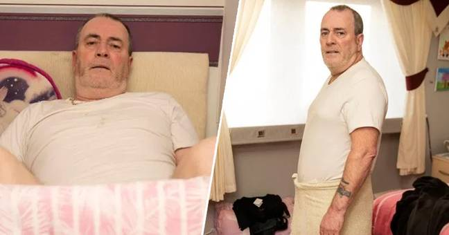 man left with permanent erection 1
