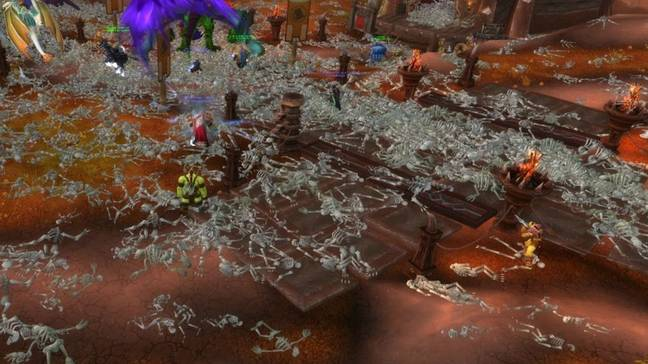 Corrupted Blood Incident World of Warcraft