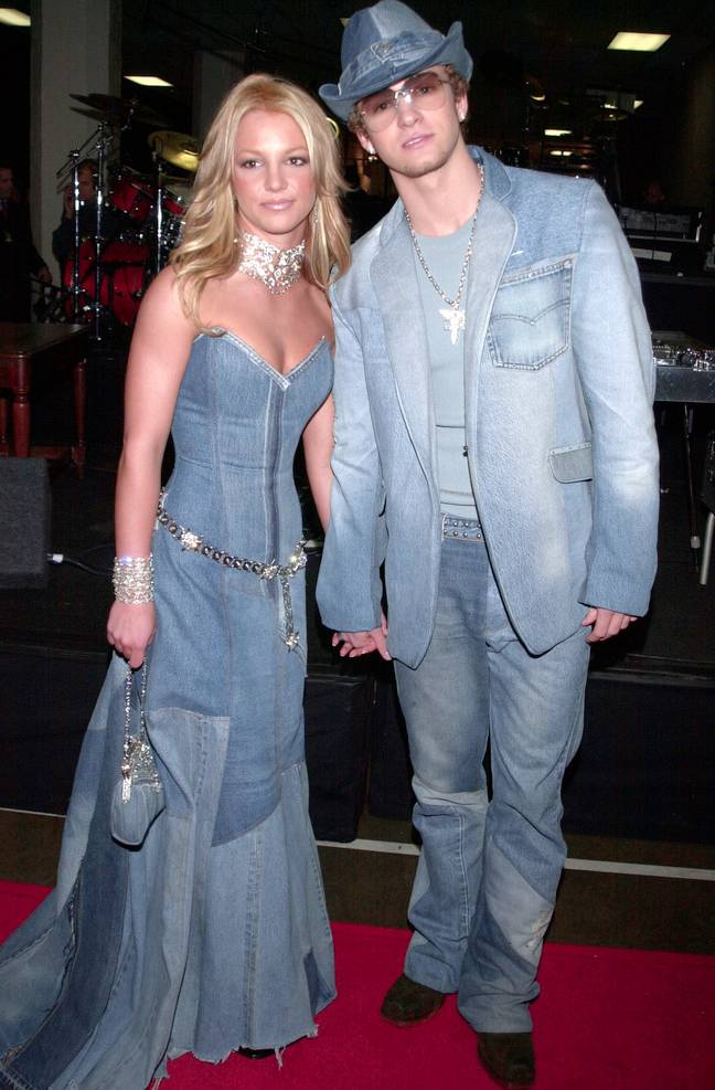 Justin Timberlake defends his and Britney Spears double denim look