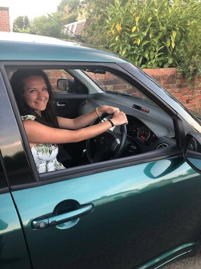 Georgia Lee can't remember passing her driving test
