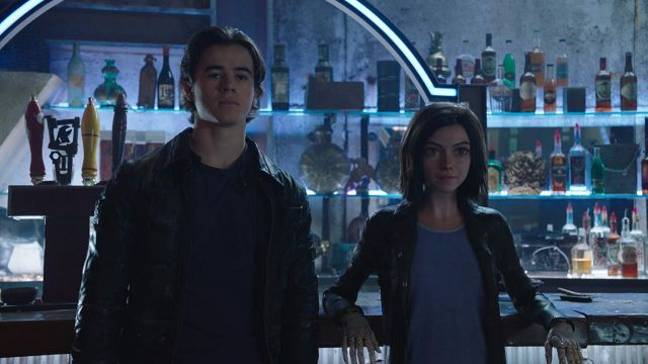 Keean Johnson Alita Battle Angel 2