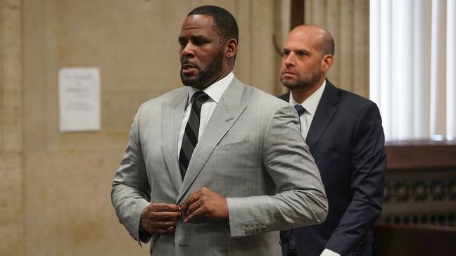 R. Kelly appears in court (PA Images)