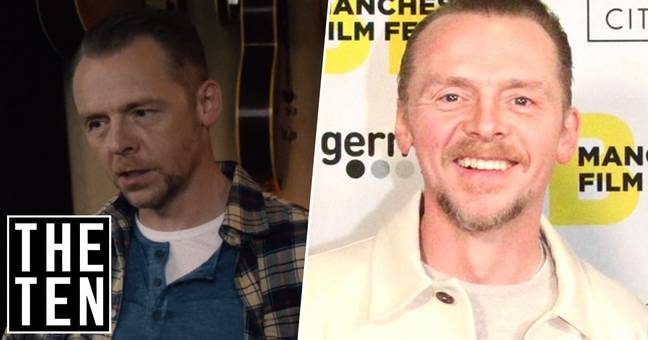 Simon Pegg Thinks Any Rational Human Would Come To The Conclusion There Is No God