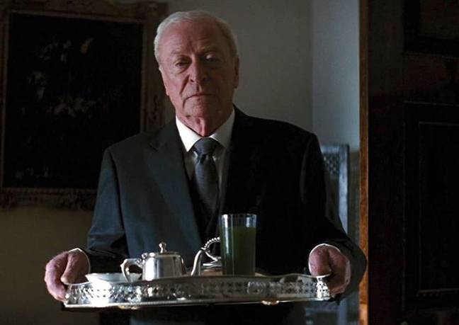 Michael Caine in The Dark Knight Rises