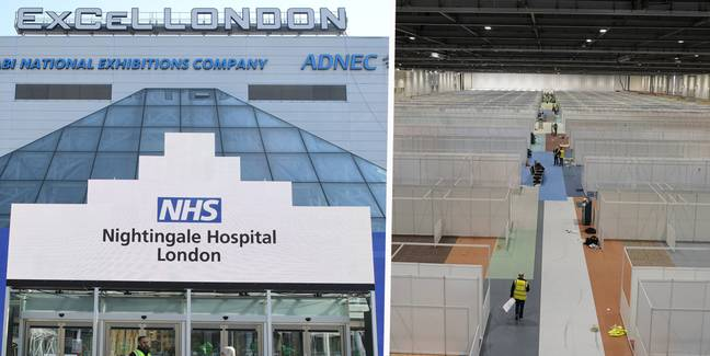 NHS NIGHTINGALE Inside London's ExCel Centre As It's Transformed Into Hospital For 4000 Patients