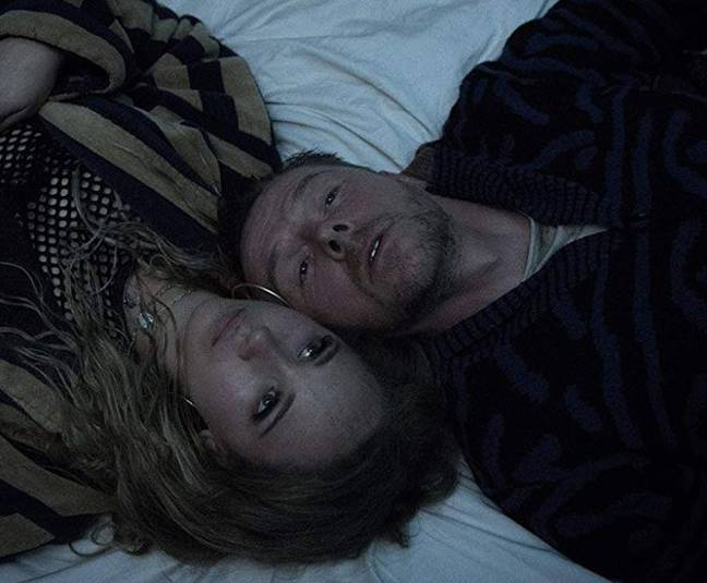 Simon Pegg and Juno Temple in Lost Transmissions