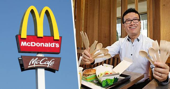 McDonald's Will Axe Plastic Cutlery And Replace It With Wooden Utensils