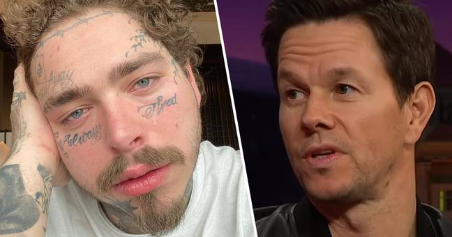 Mark Wahlberg Says He Tried To Warn Post Malone To Stop Getting Tattoos