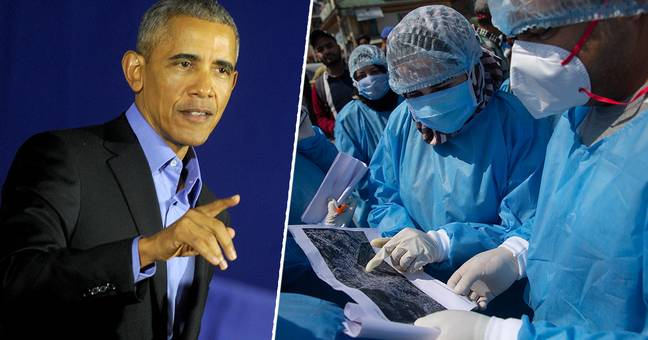 Barack Obama Thanks Health Professionals Who Are 'Giving Everything' To Fight Coronavirus