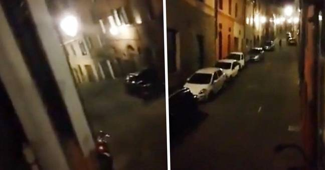 Italian Neighbours Lean Out Of Windows To Sing Together During Lockdown