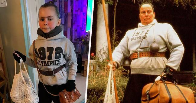 Little Girl's Miss Trunchbull Costume Is Terrifyingly Accurate