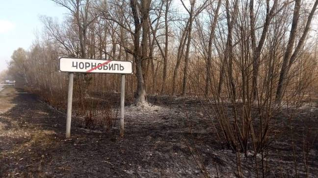 Chernobyl Forest Fires Now Burning Dangerously Close To Nuclear Reactor
