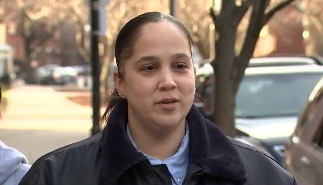 Officer Peguero Buys Groceries For Key Worker 3
