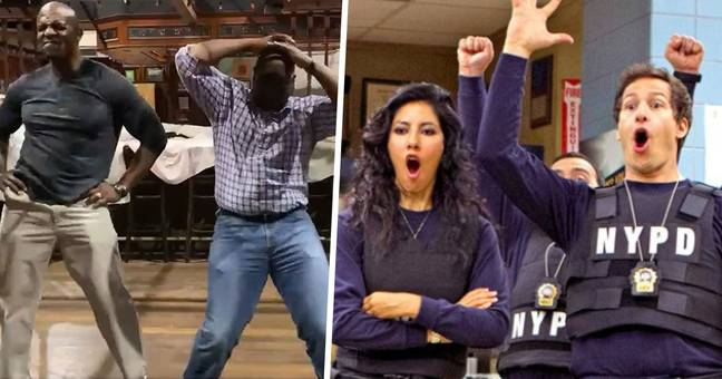 Terry Crews Celebrates Emotional Brooklyn Nine-Nine Finale Recreating Dance With Andre Braugher