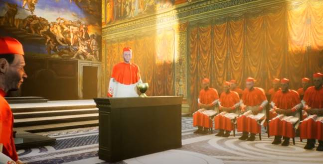 Pope Simulator Will Let You Live The Papal Life Of His Holiness