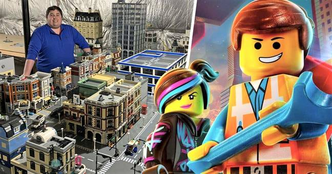 LEGO-Loving Dad Spends 5 Years And $100K Building Massive Toy City