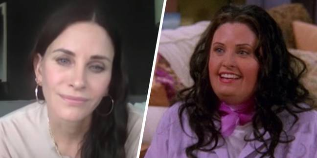 Courteney Cox Says She Loved 'Overweight Monica' Because She Felt Free