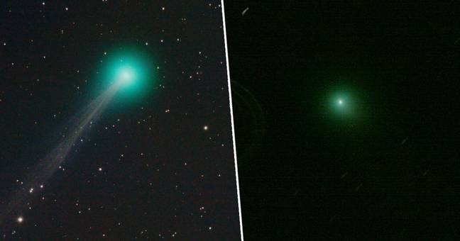 Incredible Green Comet With 10 Million-Mile-Long Tail Flying Past Earth Will Be Visible Tonight