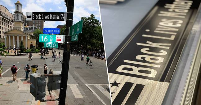 D.C. Mayor Officially Renames Road In Front Of White House Black Lives Matter Plaza