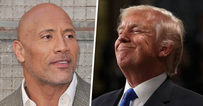 The Rock Is Third Most Popular Presidential Candidate After Biden And Trump