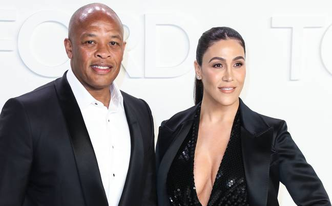 Nicole Young and Dr. Dre (PA Images)