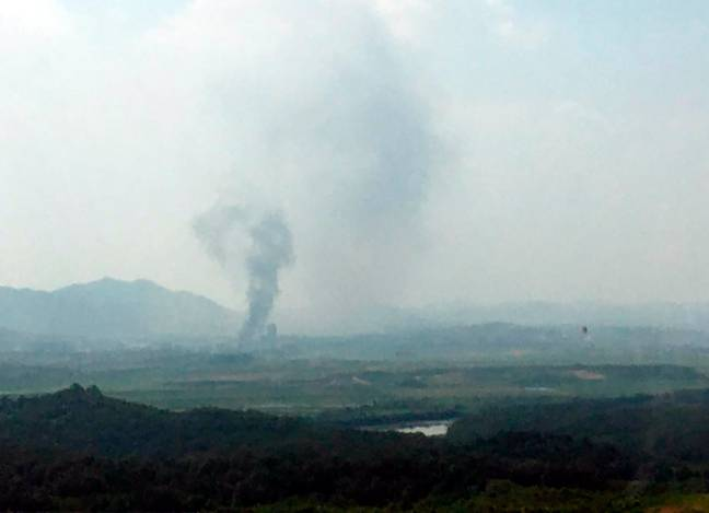 North Korea Blows Up Joint Liaison Office As Tensions With South Rise