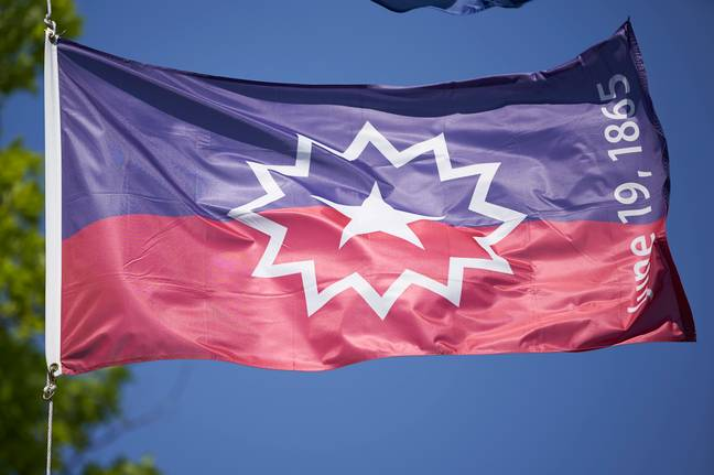 Juneteenth flag (PA Images)