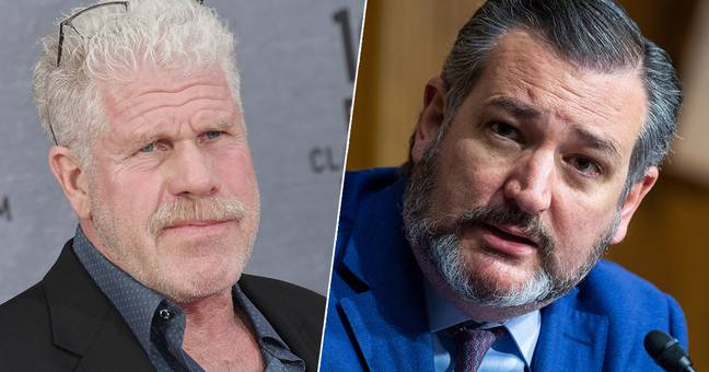 Ron Perlman Ted Cruz