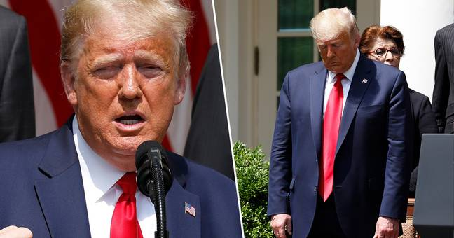 Trump Criticised For Saying George Floyd Is Looking Down And Calling It 'A Great Day'