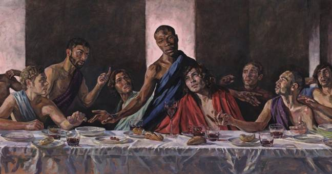 St Albans Cathedral Installs Painting Of The Last Supper With A Black Jesus