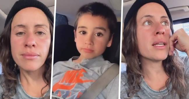 mum shares son's heartbreaking question about race 1