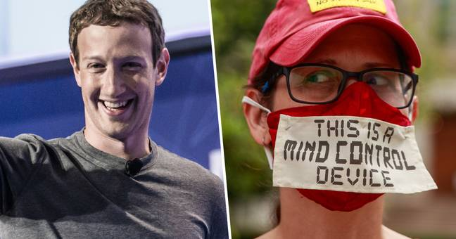 Facebook Suspends Anti-Mask Group For Spreading COVID Misinformation