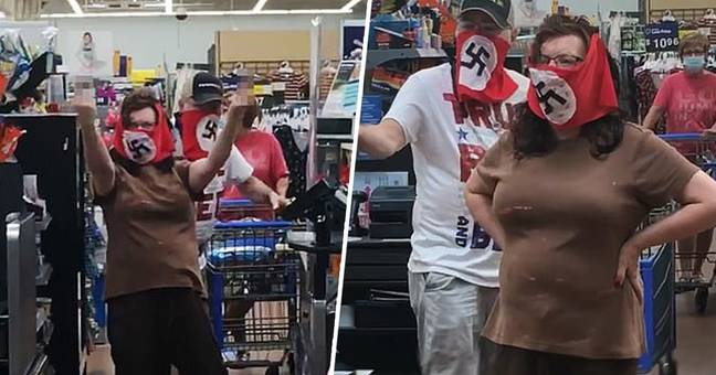 Couple Banned From Minnesota Walmart After Wearing Swastika Face Masks