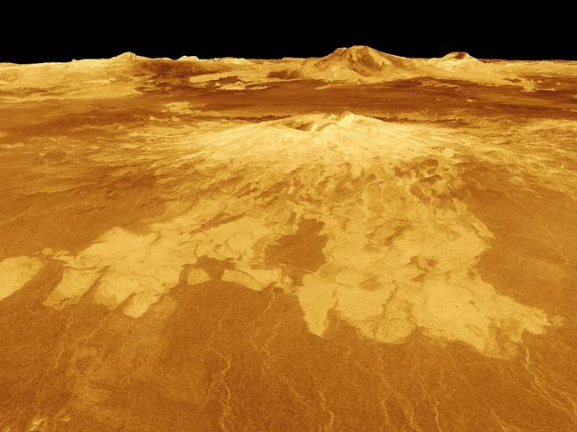NASA Venus Volcanoes